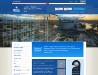 hiltonprague.com screenshot