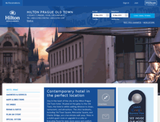 hiltonpragueoldtown.com screenshot