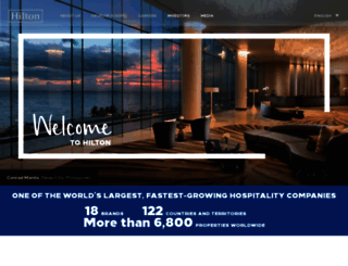 hiltonworldwide.com screenshot