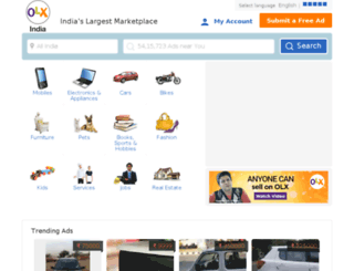 himachalpradesh.olx.in screenshot