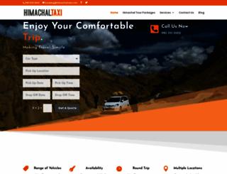 himachaltaxi.com screenshot
