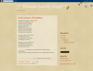 himajalovely.blogspot.com screenshot