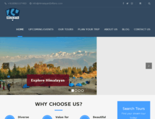himalayandrifters.com screenshot