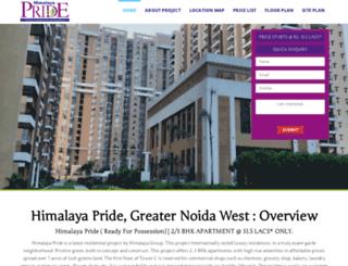himalayapride.net.in screenshot