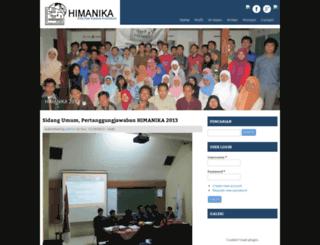 himanika-uny.org screenshot