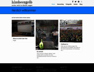 himbeergelb.de screenshot