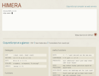 himera.herokuapp.com screenshot