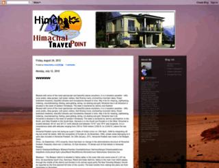 himnchaltourism.blogspot.in screenshot