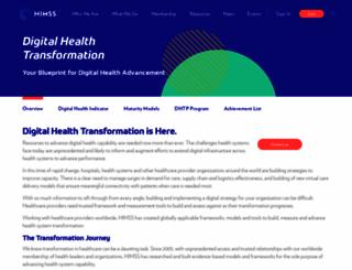 himssanalytics.org screenshot