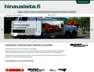 hinauslaite.fi screenshot