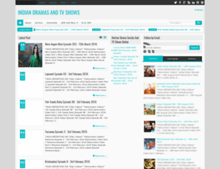 hindi-dramas.blogspot.com screenshot