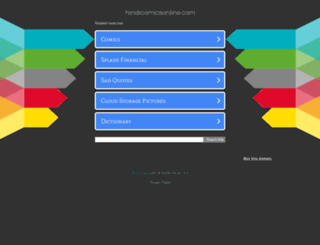 hindicomicsonline.com screenshot