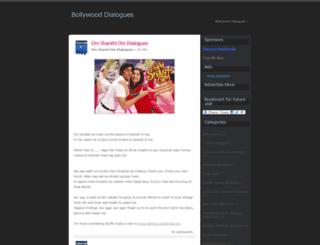 hindimoviedialogues.blogspot.in screenshot