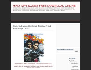 hindimp3songsfreedownloadonline.blogspot.com screenshot