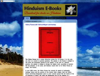 hinduebooks.blogspot.in screenshot