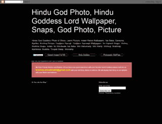 hindugodphoto.blogspot.in screenshot