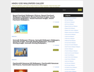 hindugodwallpapergallery.blogspot.com screenshot
