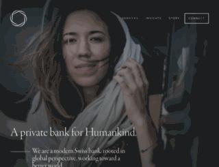 hindujabank.com screenshot