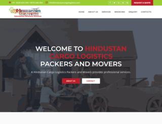 hindustancargologistics.com screenshot