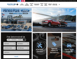 hinesparkfordinc.com screenshot