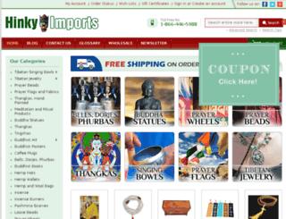 hinkyimport.com screenshot