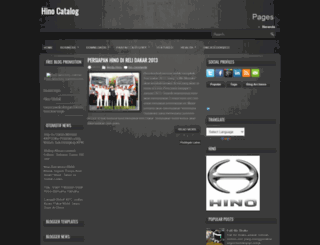 hinocatalog.blogspot.com screenshot