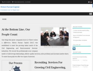 hintonhumancapital.com screenshot