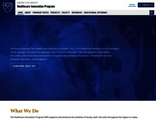 hip.emory.edu screenshot