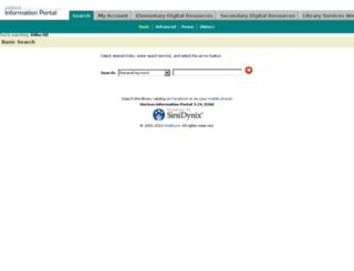 hip.horrycounty.org screenshot
