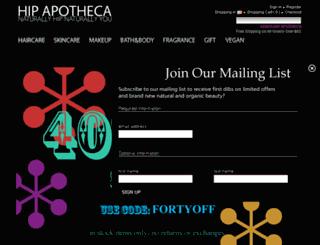 hipapotheca.com screenshot