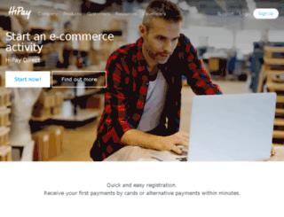 hipaywallet.com screenshot