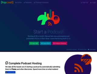 hipcast.com screenshot