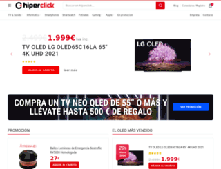 hiperclick.com screenshot