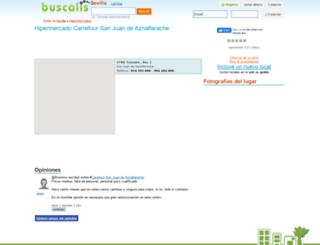 hipermercado-carrefour-san-juan-de-aznalfarach--sevilla.buscalis.com screenshot