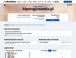 hiperogloszenia.pl screenshot