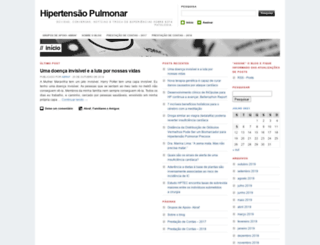 hipertensaopulmonar.wordpress.com screenshot