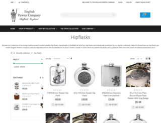 hipflaskcompany.com screenshot