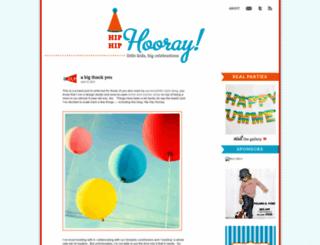 hiphiphoorayblog.com screenshot