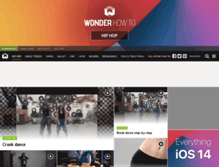 hiphop-dance-lessons.wonderhowto.com screenshot