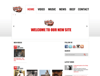 hiphopbeef.com screenshot