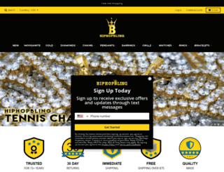 hiphopchains.com screenshot