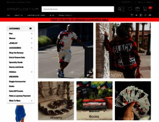 hiphopcloset.com screenshot