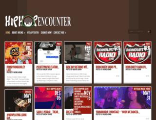 hiphopencounter.com screenshot