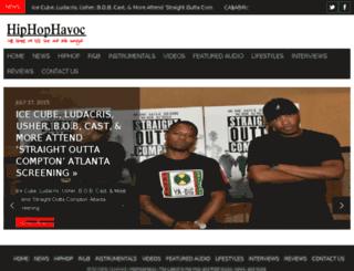 hiphophavoc.com screenshot