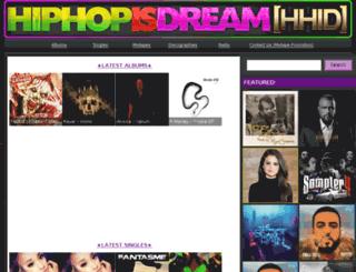 hiphopisdream.com screenshot