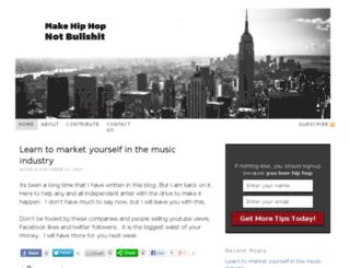 hiphoplovedesign.com screenshot