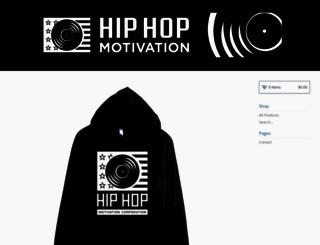 hiphopmotivation.bigcartel.com screenshot