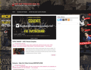 hiphopperuanomasna.blogspot.pe screenshot