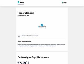 hipocrates.com screenshot