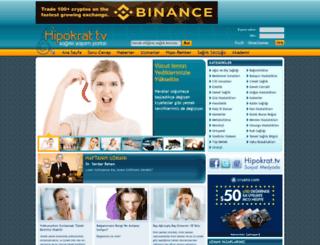 hipokrattv.com screenshot